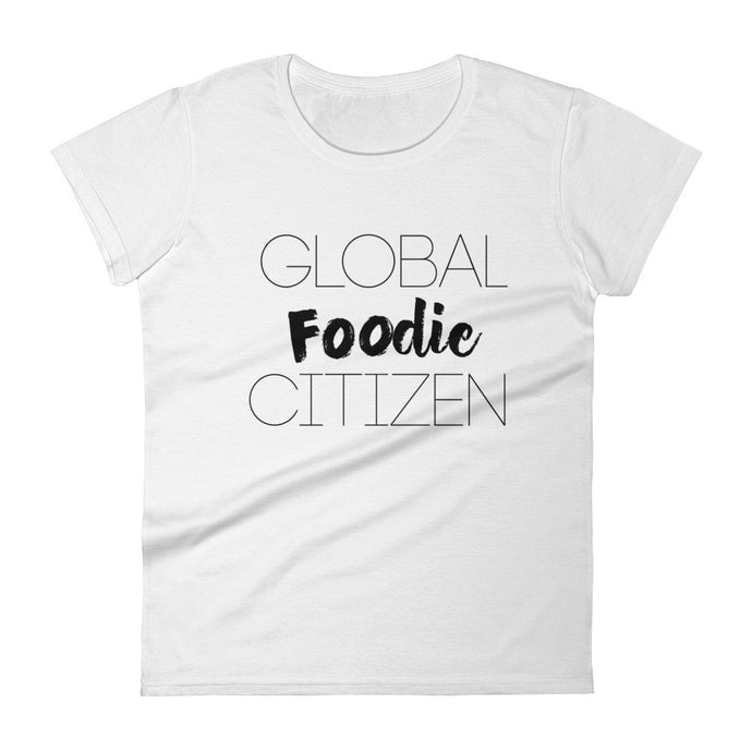 Global Foodie Citizen Women's short sleeve t-shirt