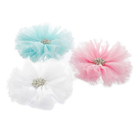 Jewel Ballerina Flower Clip