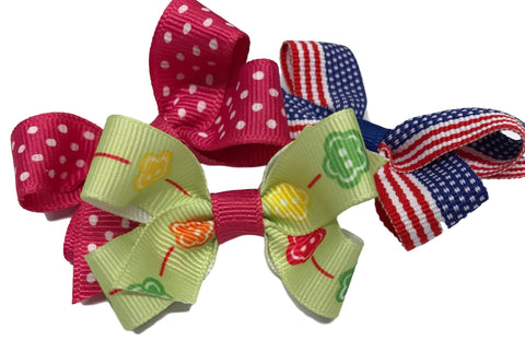 Baby Clip Bow - Patterns