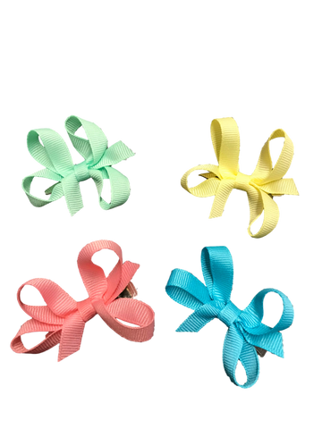 Baby Twisted Clip - Solid Colors