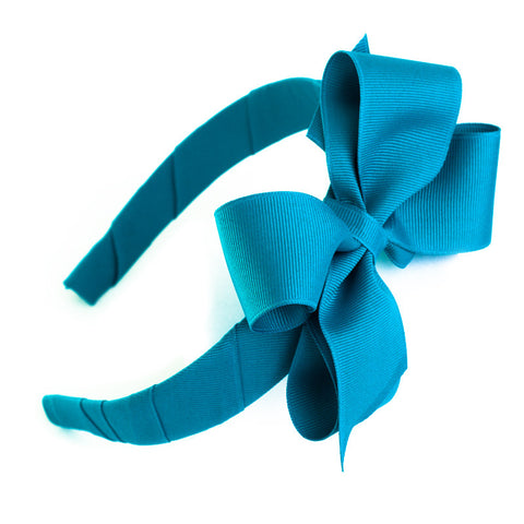 Headband With Bow - Solid Colors