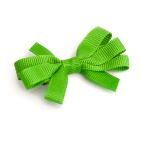Infant Clip Bow - Solid Colors