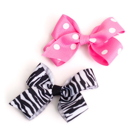 Toddler Clip Bow - Patterns