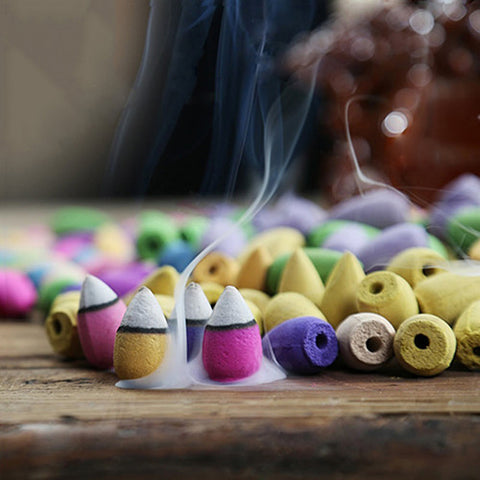 50Pcs Backflow Incense  Cones
