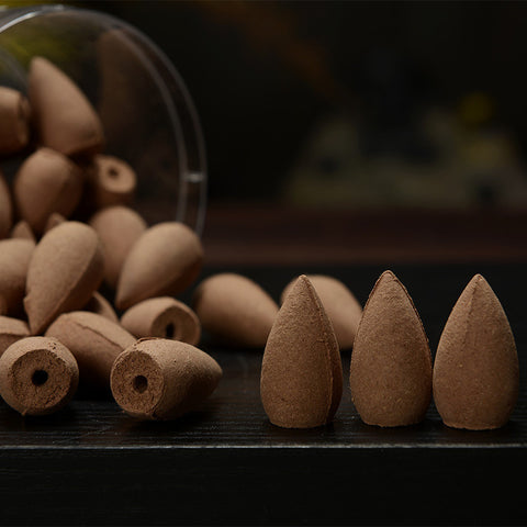 45pcs Cloth Bag Bullet Incense Cones
