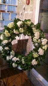 Sympathy Wreath Fresh