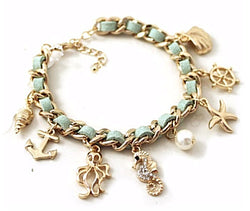 Retro Sea Series Seashell Bracelet