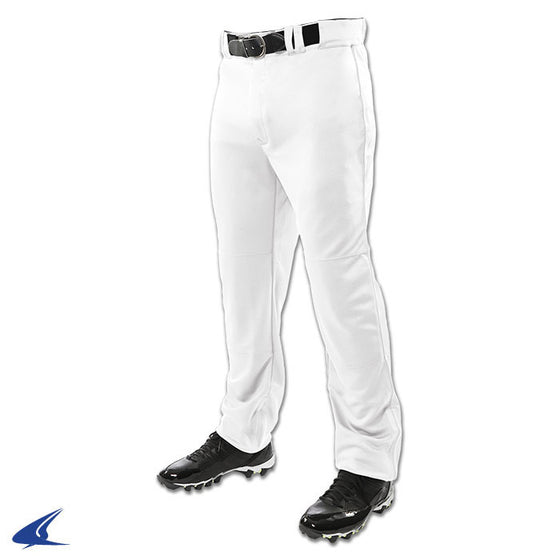 Champro Triple Crown Open Bottom Boys Baseball Pant, White