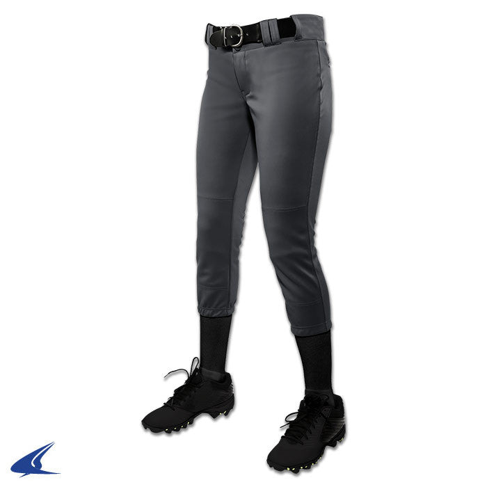 Champro Tournament Girls Softball Pant, Graphite