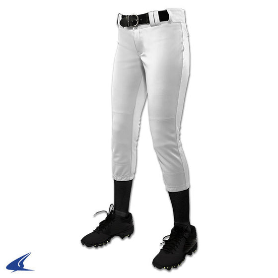 Champro Tournament Womens Softball Pant, White