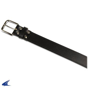 Champro Adult Leather Baseball Belt, Black