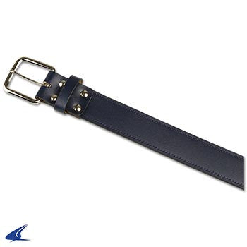 Champro Adult Leather Baseball Belt, Navy
