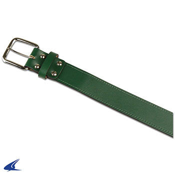 Champro Adult Leather Baseball Belt, Forest Green