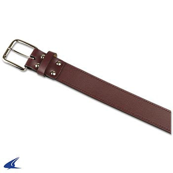 Champro Adult Leather Baseball Belt, Maroon