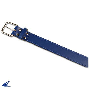 Champro Adult Leather Baseball Belt, Royal