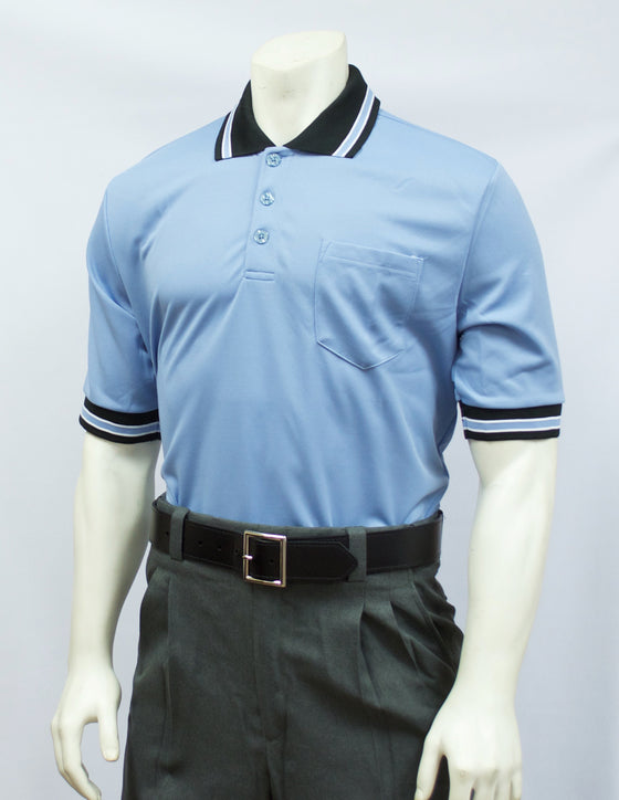 Smitty Short Sleeve Umpire Shirt, Carolina Blue