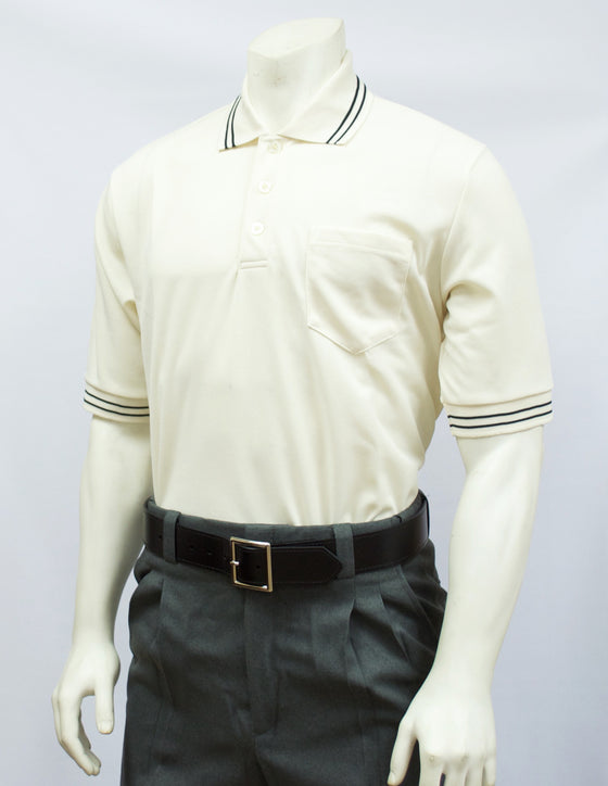 Smitty Short Sleeve Umpire Shirt, Cream