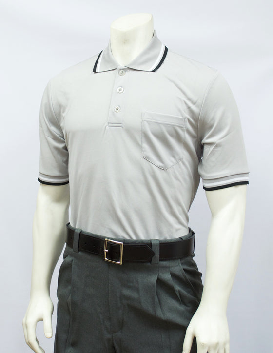 Smitty Short Sleeve Umpire Shirt, Grey