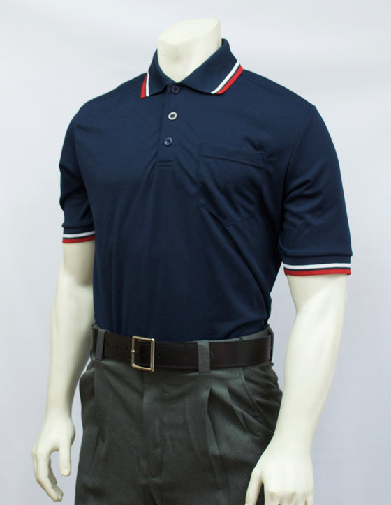 Smitty Short Sleeve Umpire Shirt, Navy