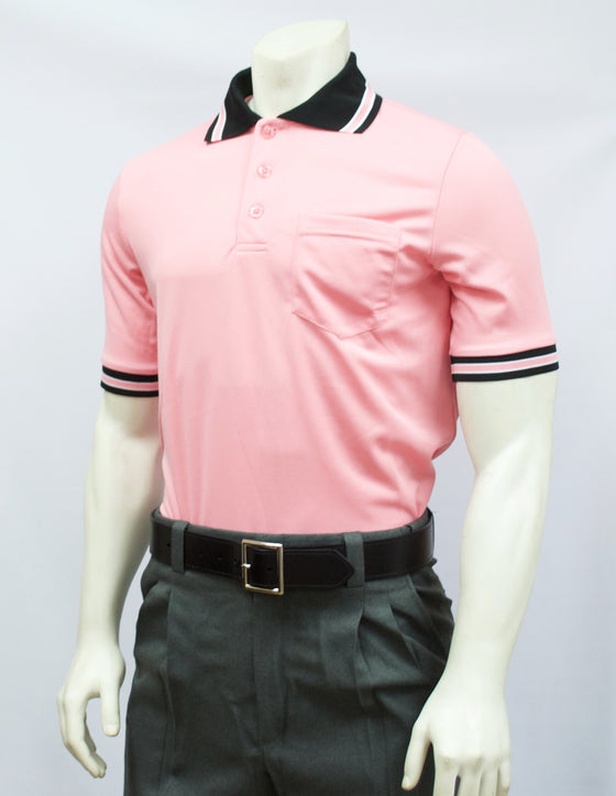 Smitty Short Sleeve Umpire Shirt, Pink