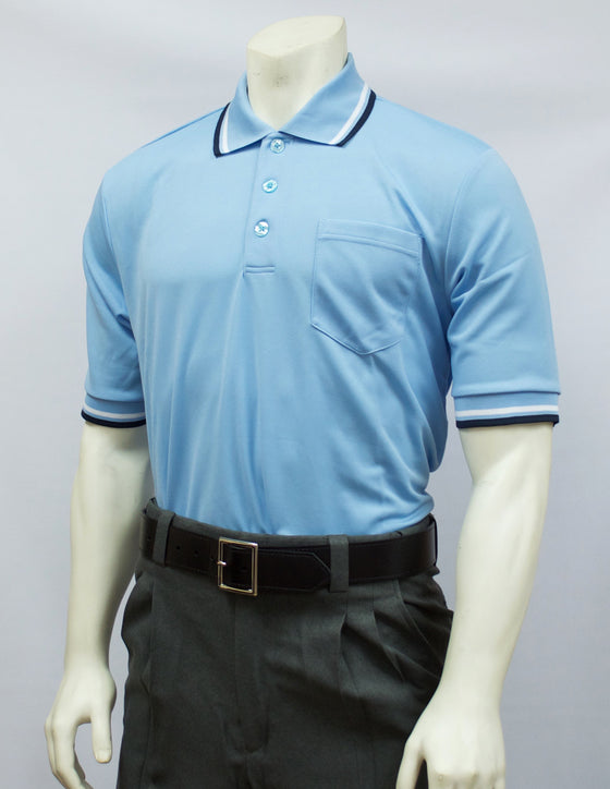 Smitty Short Sleeve Umpire Shirt, Powder Blue