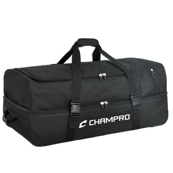 Catcher/Umpire Wheeled Equipment Bag, 36in X 16in X 14in