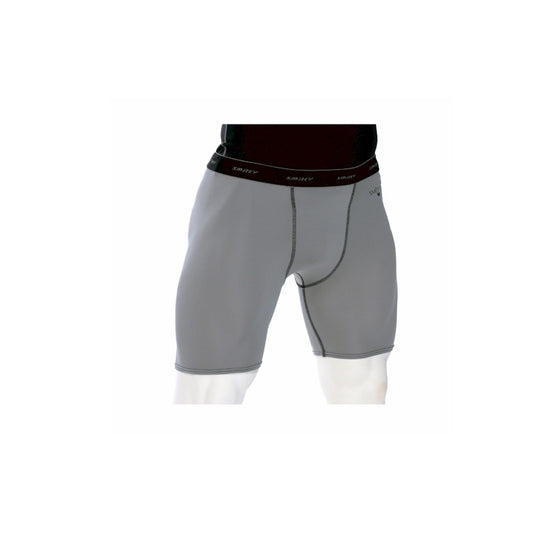 Smitty Grey Compression Shorts w/ Cup Pocket - Grey