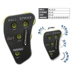 Champro Umpire 4-Dial Indicator - New Dial Configuration