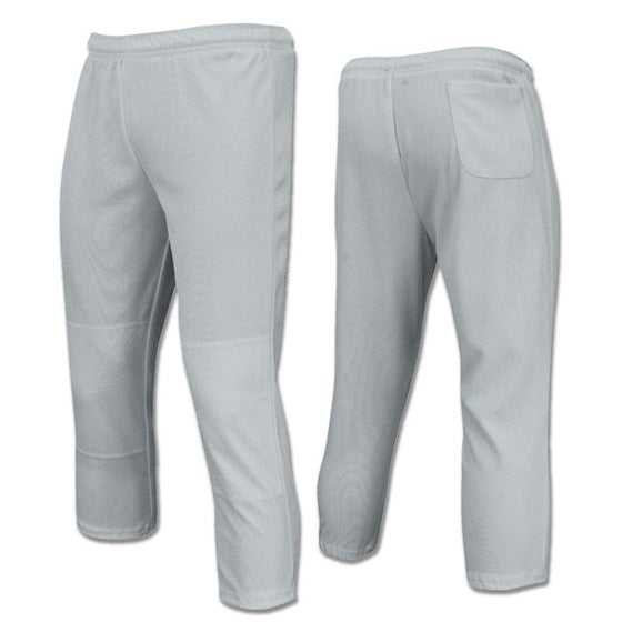 Champro Value Pull-Up Boys Baseball Pant, Grey