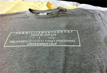 'Too Slow' Stamp Tees Ltd Edition GREY