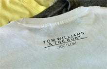 'Too Slow' Stamp Tees Ltd Edition WHITE