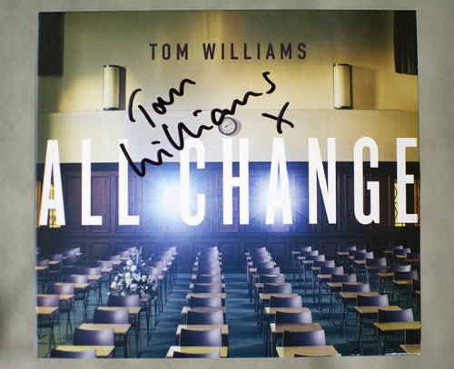 'All Change' CD 'Signed'