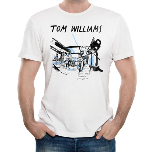 Tom Williams 'Bush Hall' White T-Shirt