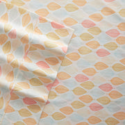 Leaf Patterned 4-Piece Sheet Set