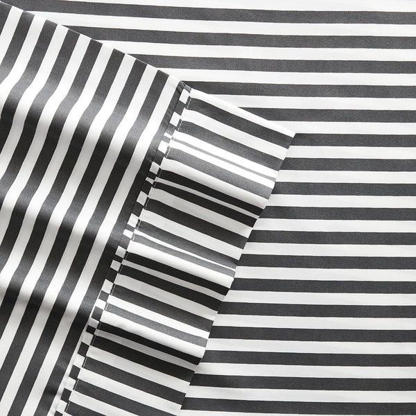 Ribbon Patterned 4-Piece Sheet Set