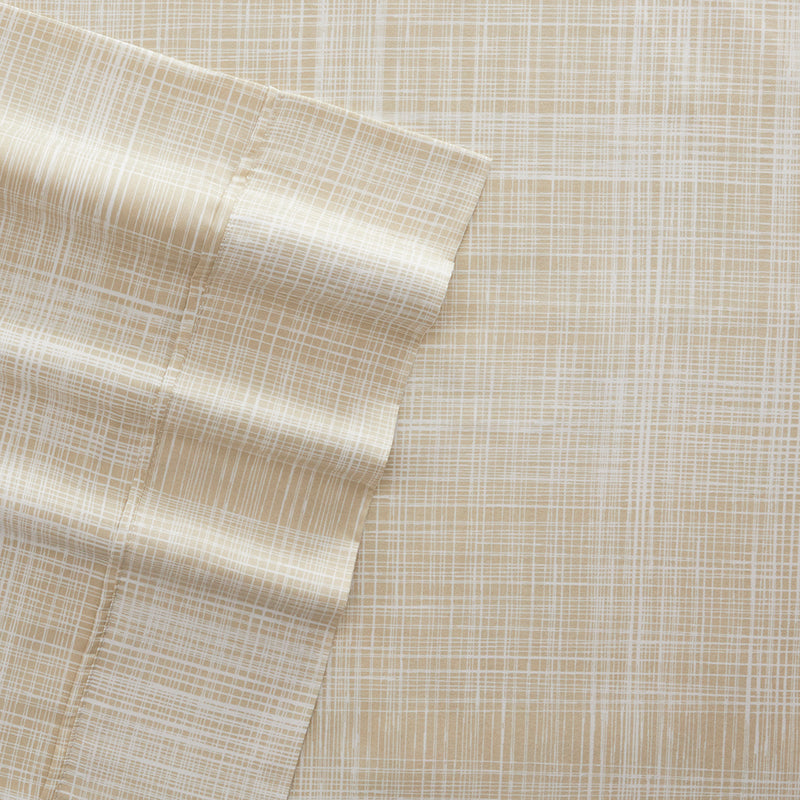 Thatch Patterned 4-Piece Sheet Set