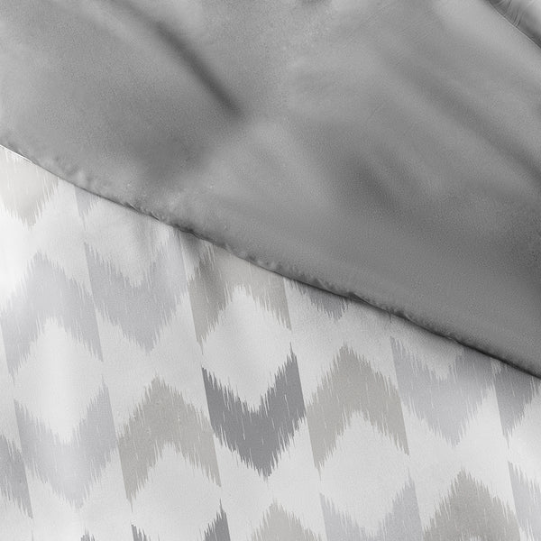 New Chevron Sleep 3-Piece Reversible Duvet Cover Set