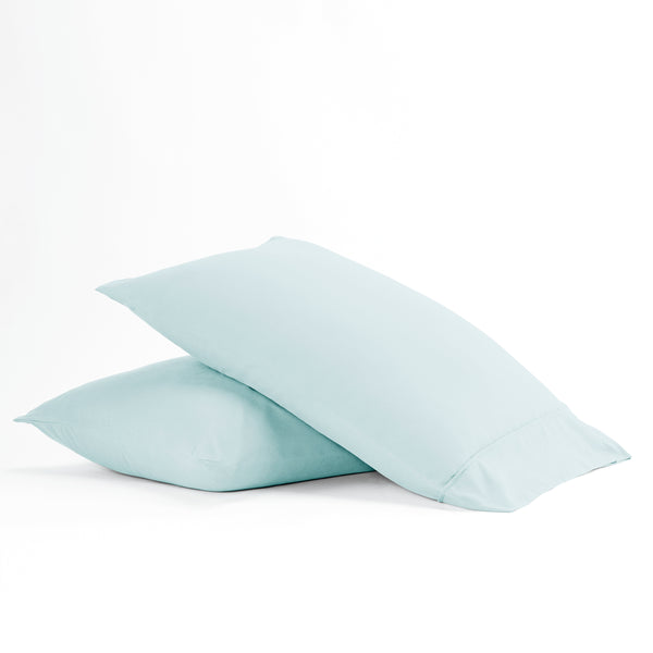 Aqua, Premium Ultra Soft 2-Piece Pillow Case Set, ALT4 Image