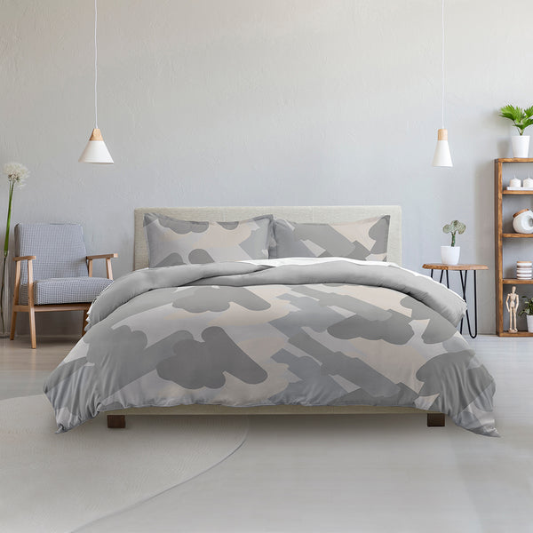 Made Supply Co. 3 Piece Painterly Reversible Comforter Set
