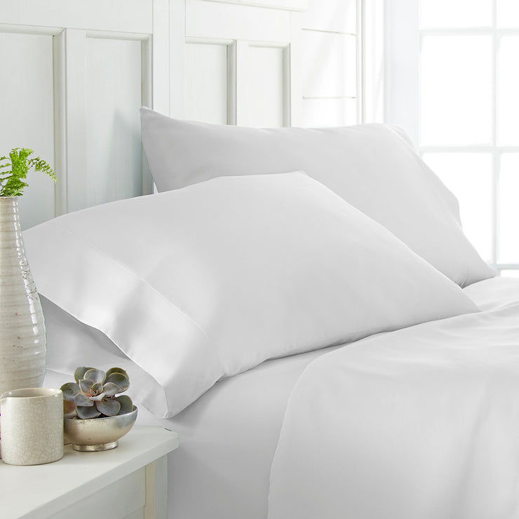 2-Piece Luxury Bamboo Pillowcase Set