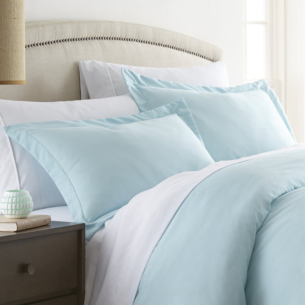 Aqua, Premium Ultra Soft 2-Piece Pillow Sham Set, v1 Image