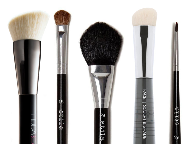 The 5 Makeup Brushes You Need For Pro Results