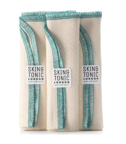 Skin & Tonic Cotton Face Cloth