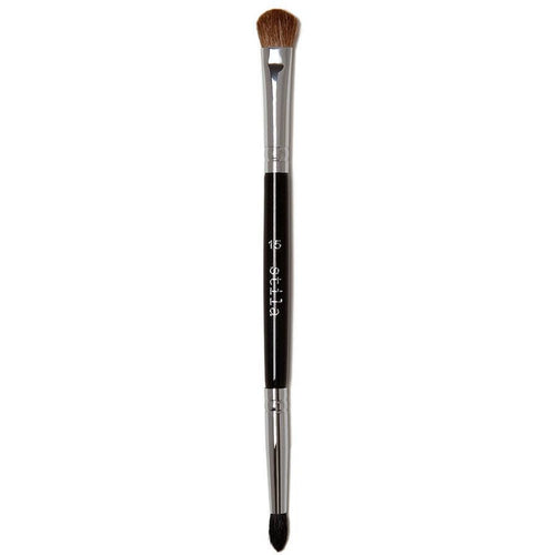 #15 Double-Sided Crease and Liner Brush-Makeup Brushes-The Beauty Editor