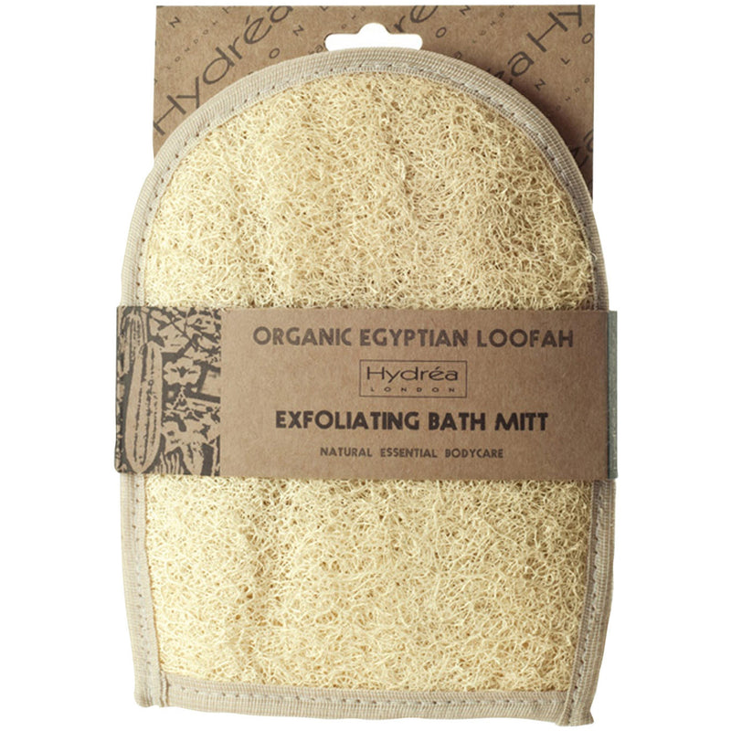 Organic Egyptian Loofah Bath Glove-Bath & Shower Tools-The Beauty Editor