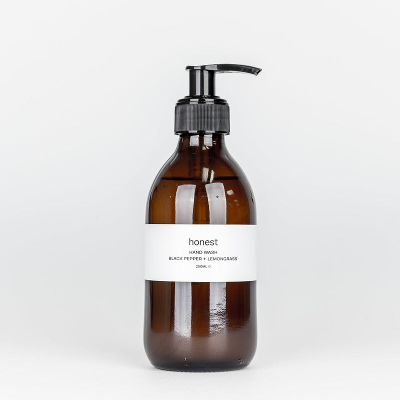 Black Pepper and Lemongrass Hand Wash - The Beauty Editor