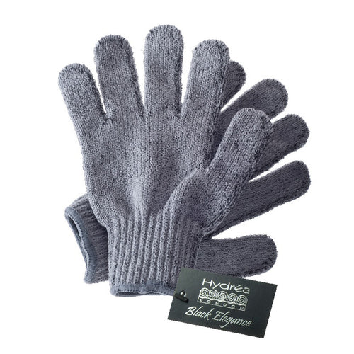 Carbonized Bamboo Exfoliating Gloves-Body Tools-The Beauty Editor