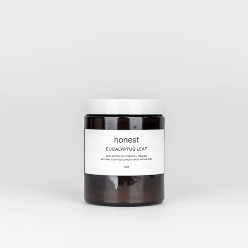 Eucalyptus Leaf Candle-Candles-The Beauty Editor