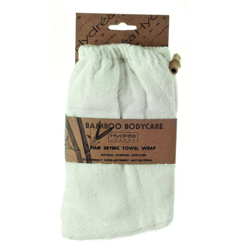 Bamboo Hair Drying Towel Wrap - The Beauty Editor