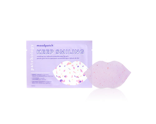 MOODPATCH KEEP SMILING LIP GELS - SINGLE